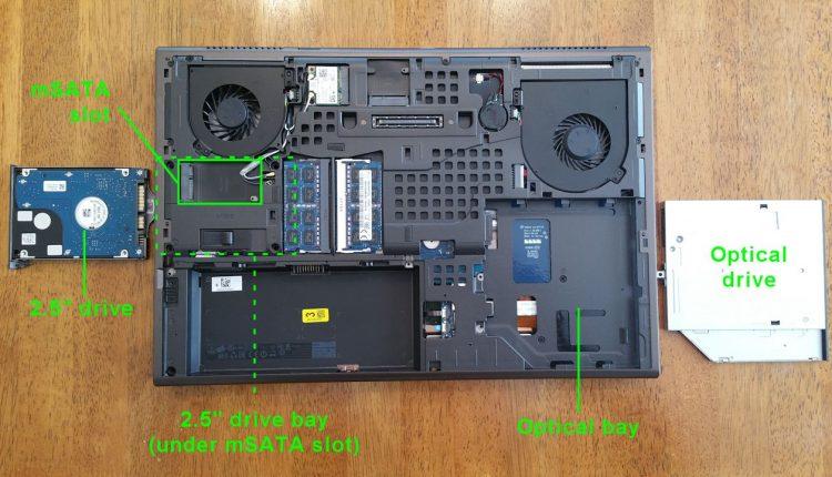 Nâng Cấp SSD Và Nâng Cấp RAM Cho Dell Precision M4800