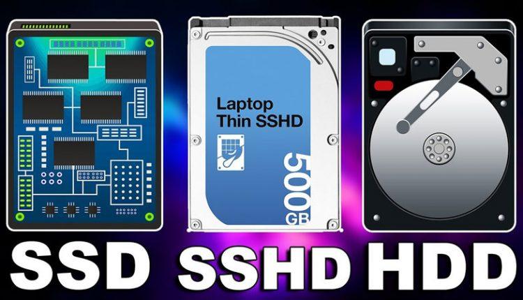 Ổ cứng SSD vs SSHD