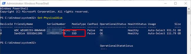 cách kiểm tra ổ cứng trong máy tính là ssd hay hdd